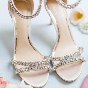 Badgley Mischka Embellished Heels